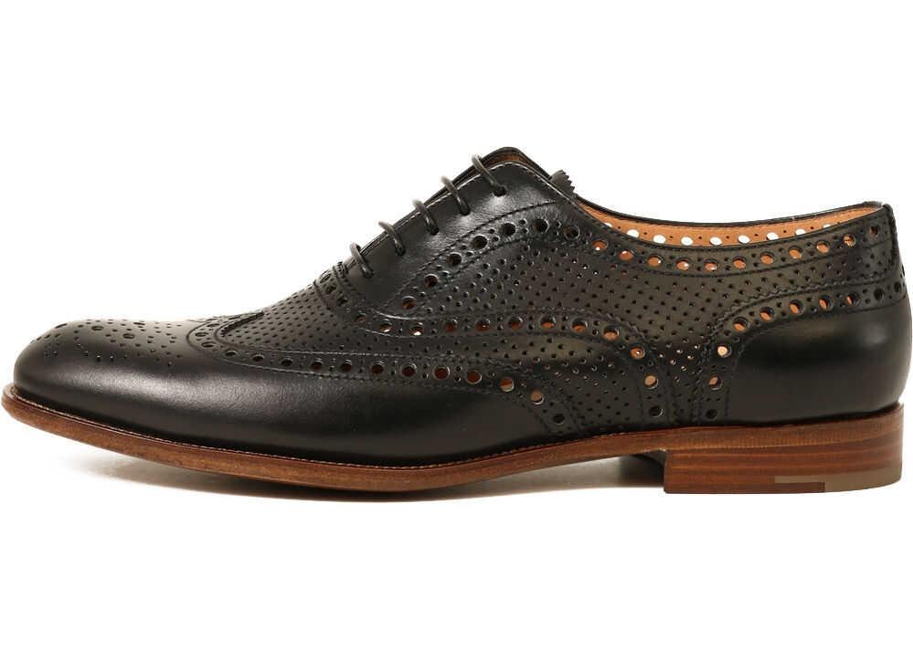 Church's Lace-Up Shoe DE0149 9PD Black imagine b-mall.ro