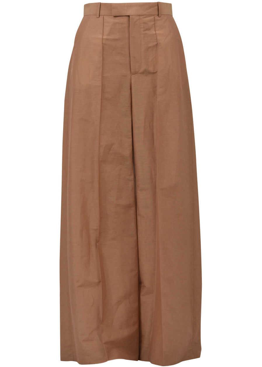 Céline Parachute Trousers Camel
