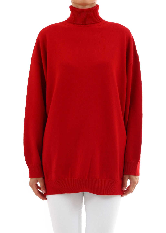 Balenciaga Cashmere Sweater Signature Red