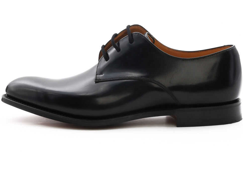 Church's Derby Oslo In Calf Leather Black