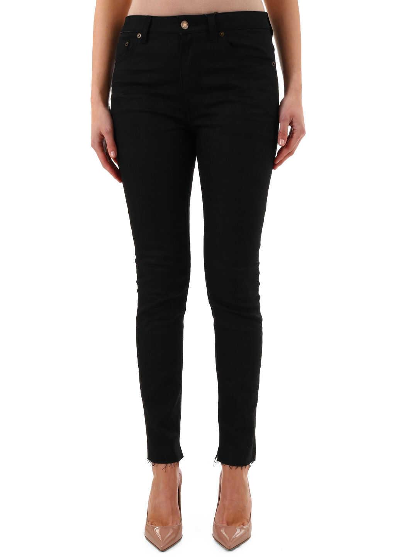 Saint Laurent Skinny Jeans Black