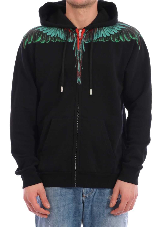 Marcelo Burlon Sweatshirt Wings Black
