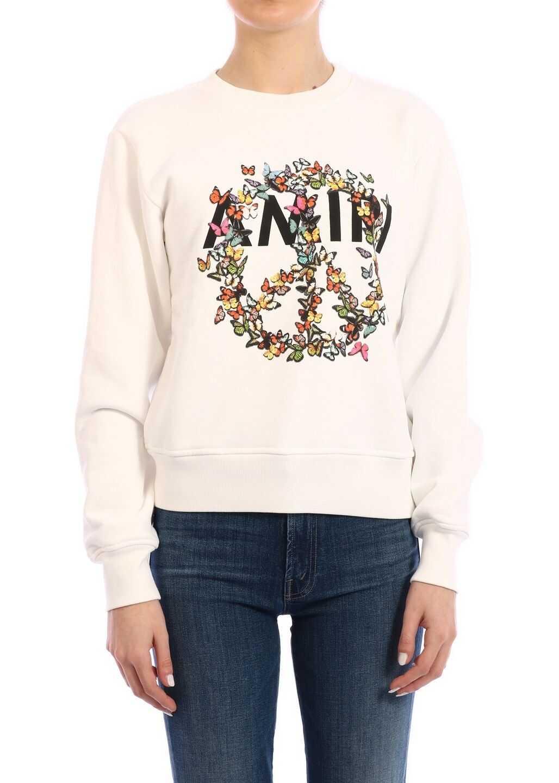 AMIRI Sweatshirt Peace White