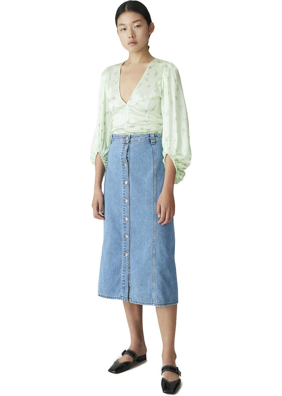 Ganni Skirt Blue