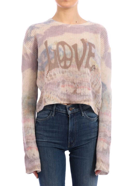 AMIRI Tie-Dye Cashmere Sweater Multicolor