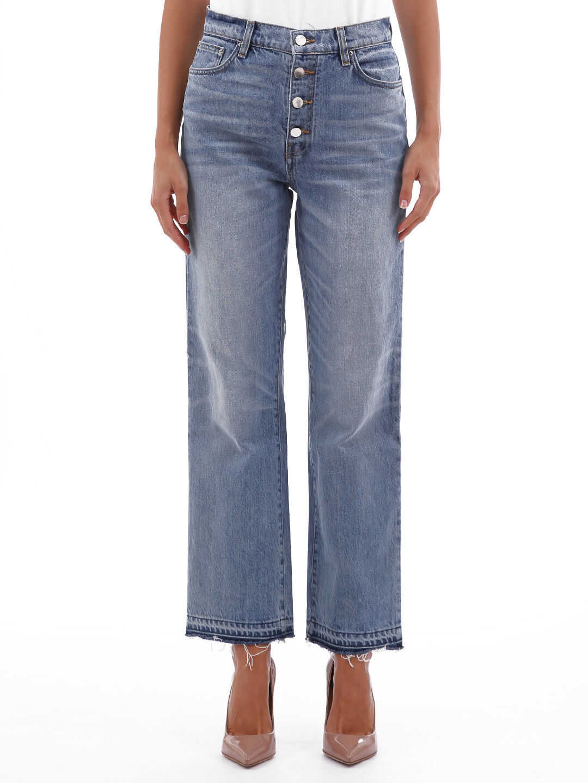 AMIRI Jeans Glitter Track Light blue