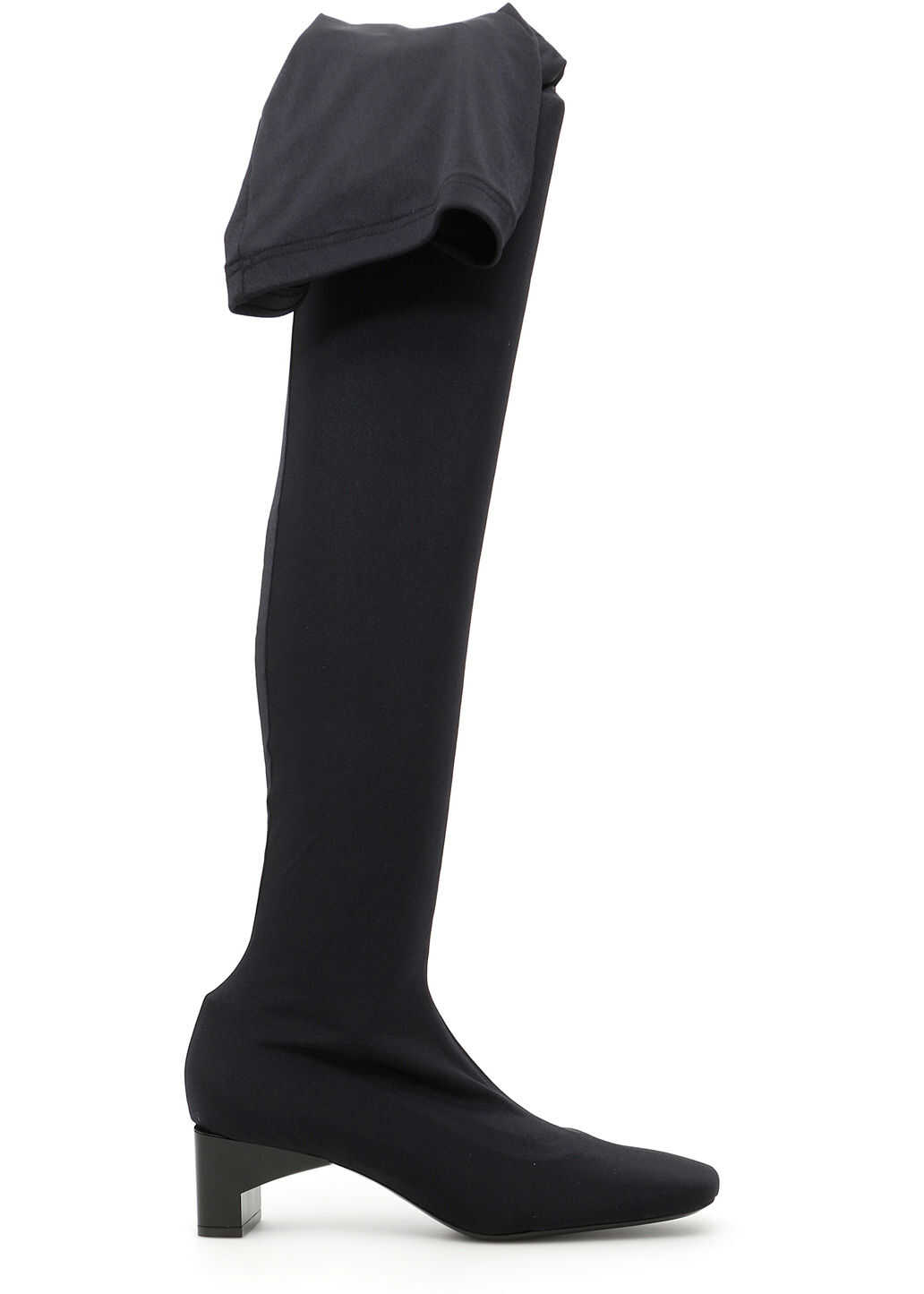Alyx Lycra Blondey Boots BLACK