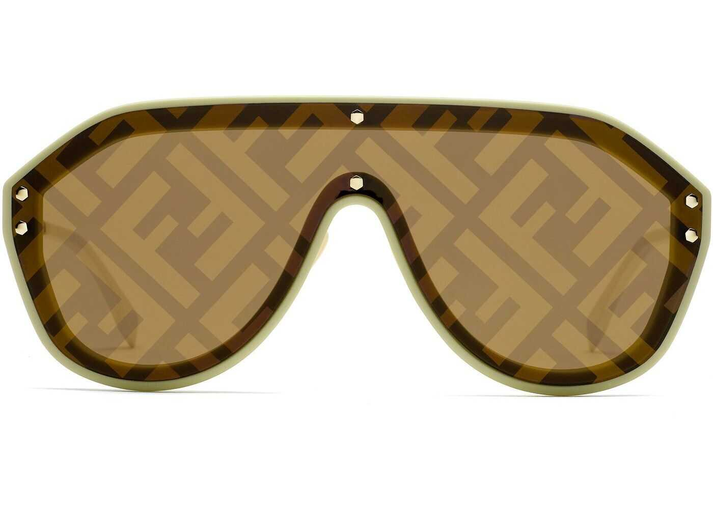 Fendi Metal Sunglasses BEIGE