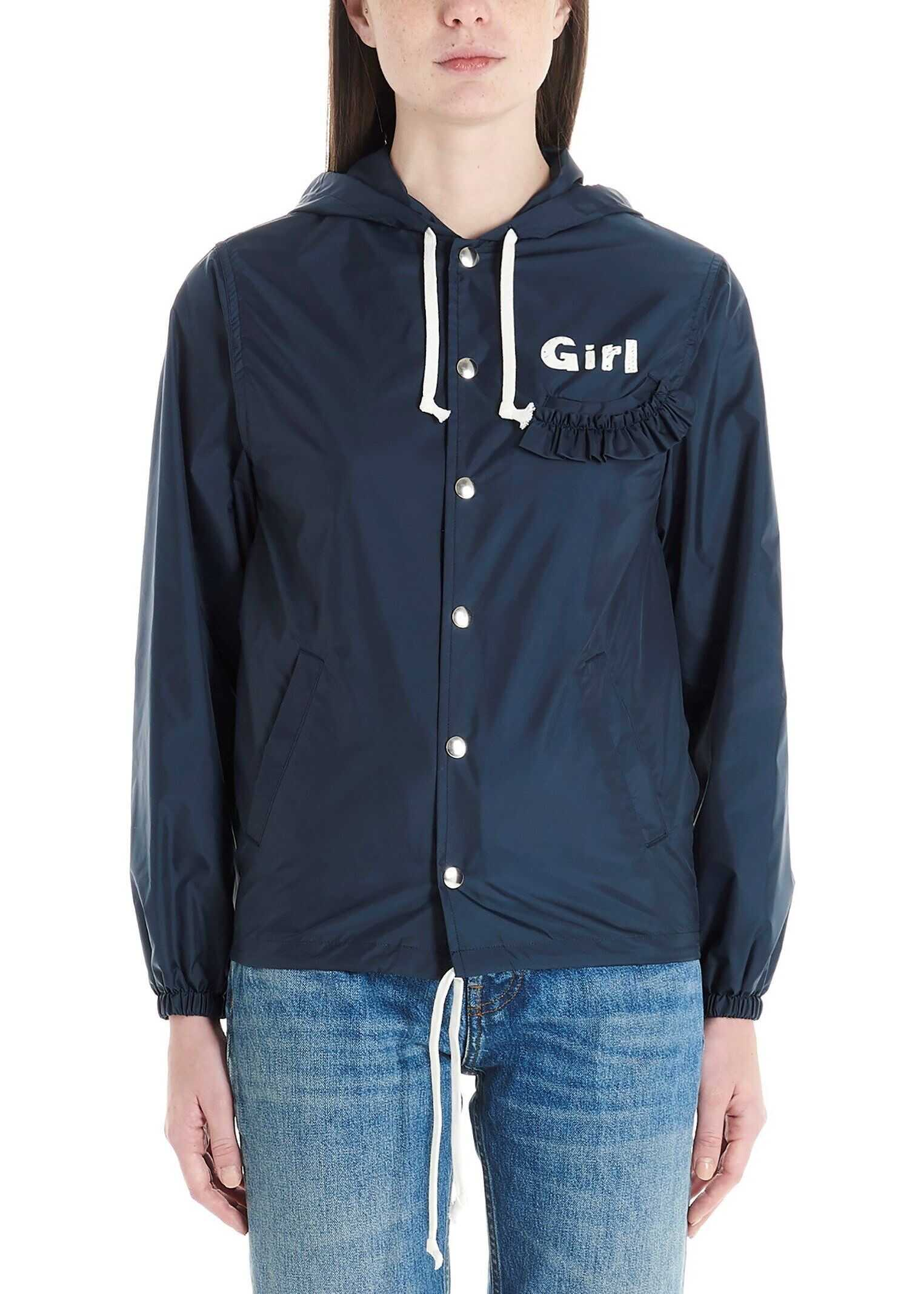 Comme des Garçons Polyamide Outerwear Jacket BLUE
