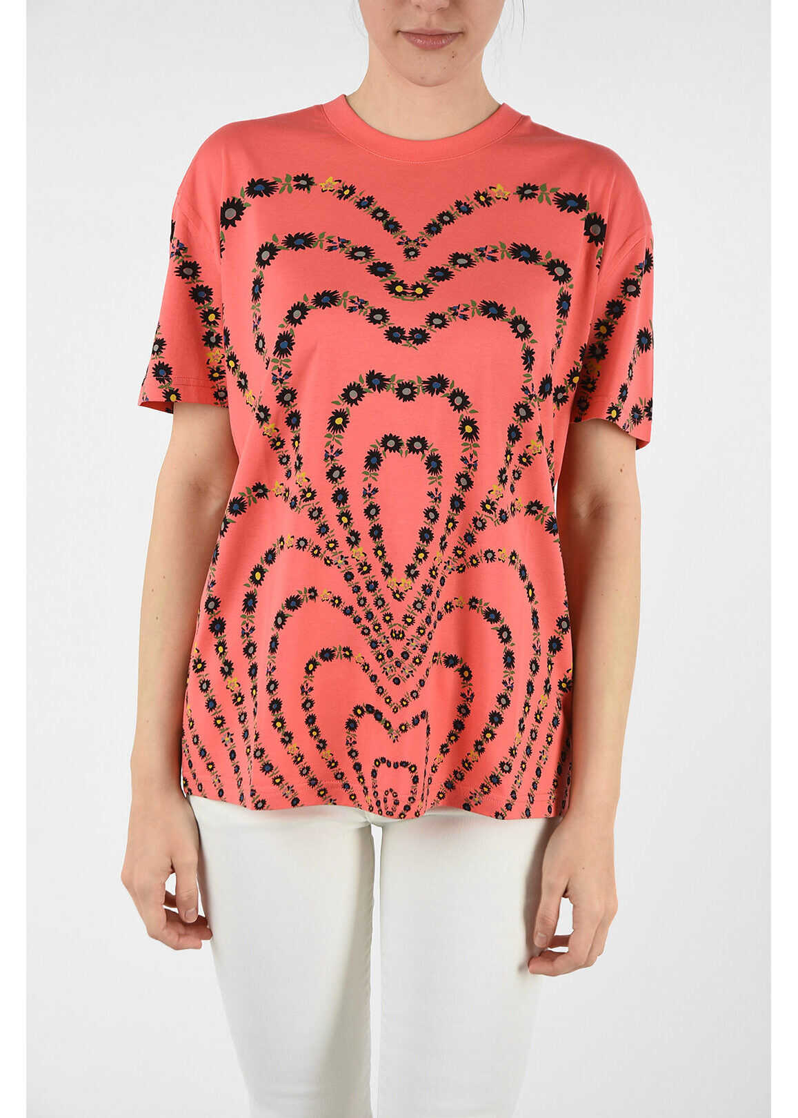 Givenchy floral-print t-shirt PINK