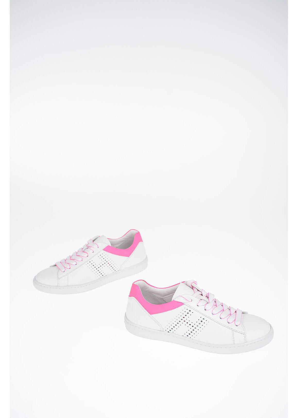Hogan Leather H86N Sneakers WHITE