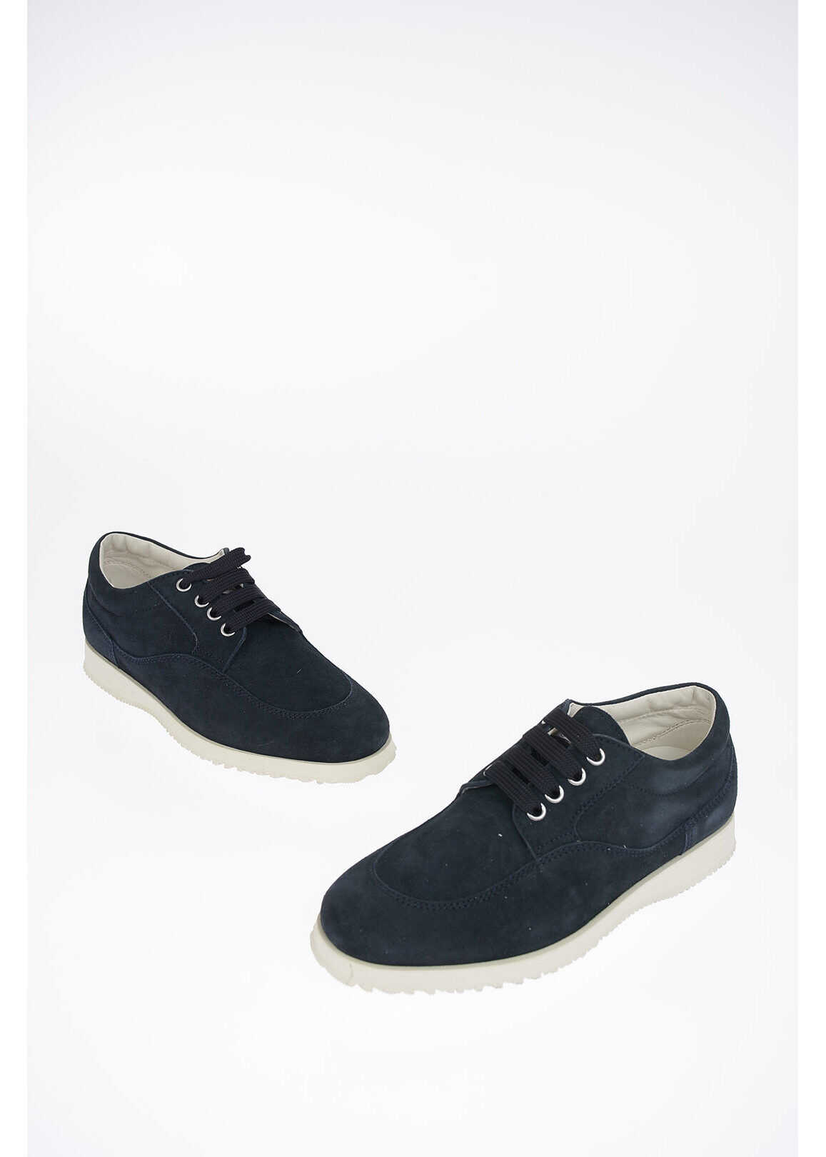 Hogan Suede Leather TRADITIONAL Derby BLUE