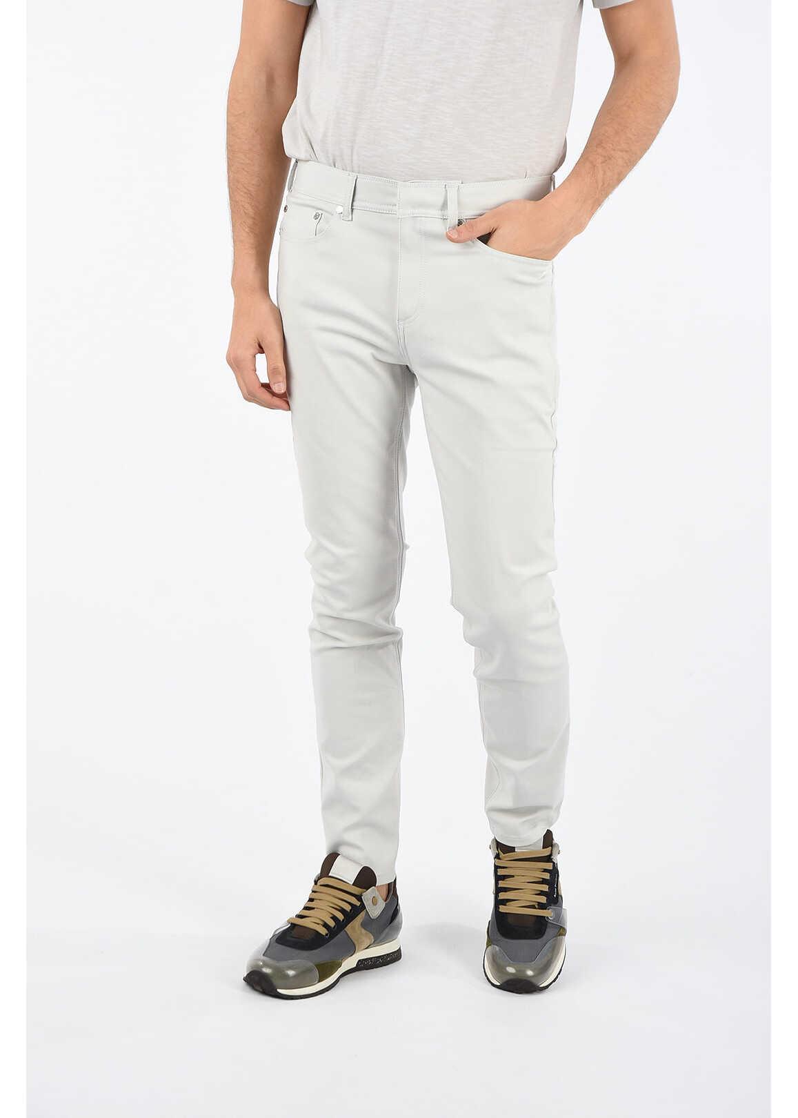 Neil Barrett SUPER SKINNY FIT Jeans 15 cm GRAY