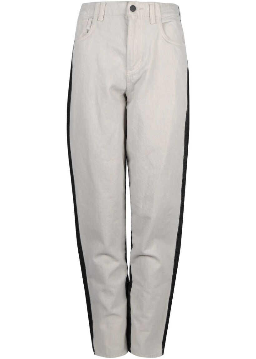 GUESS Relaxed H.Waist W71A00R2I70 Czarny/Biały