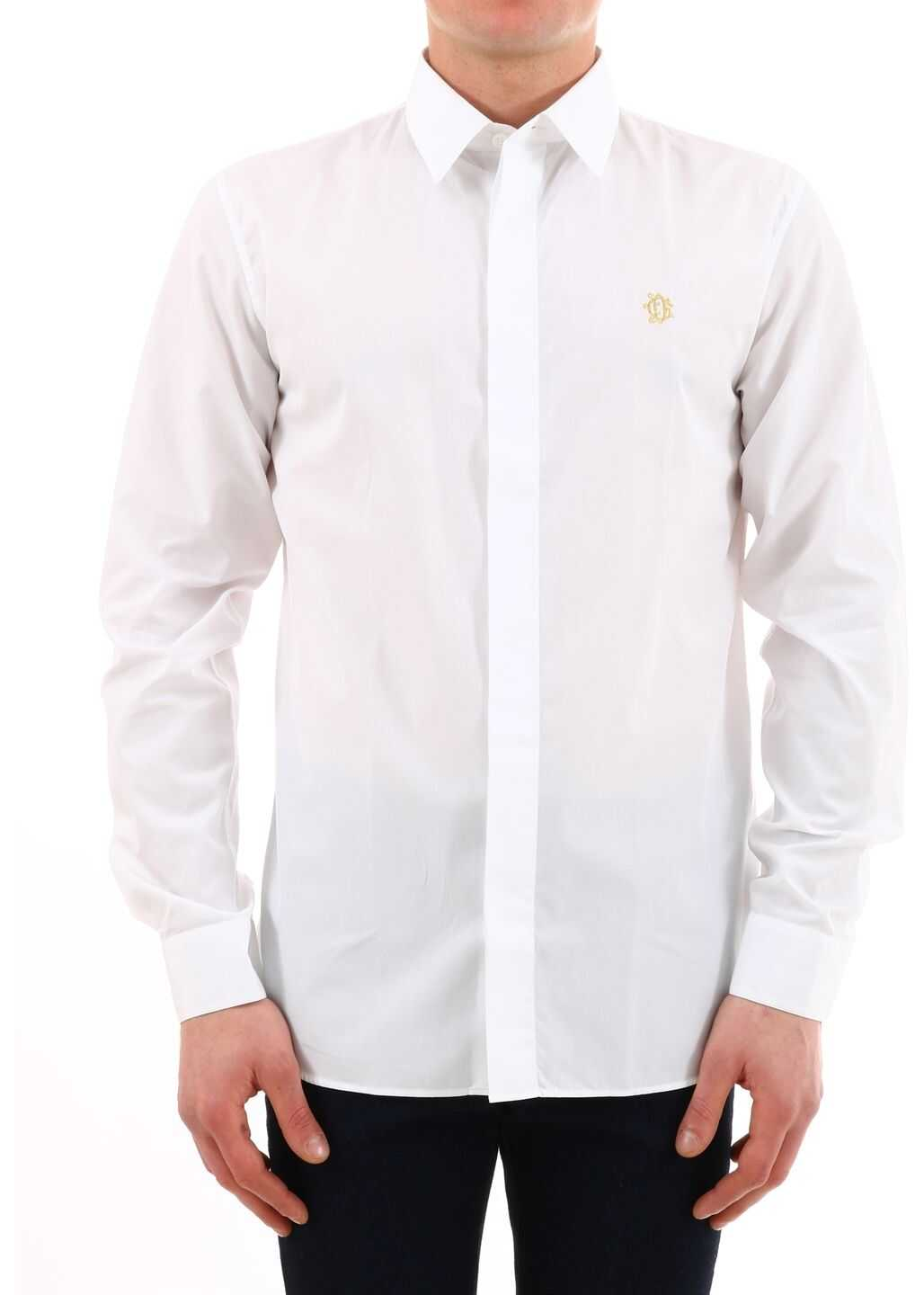 Dior Shirt Cd Gothique White