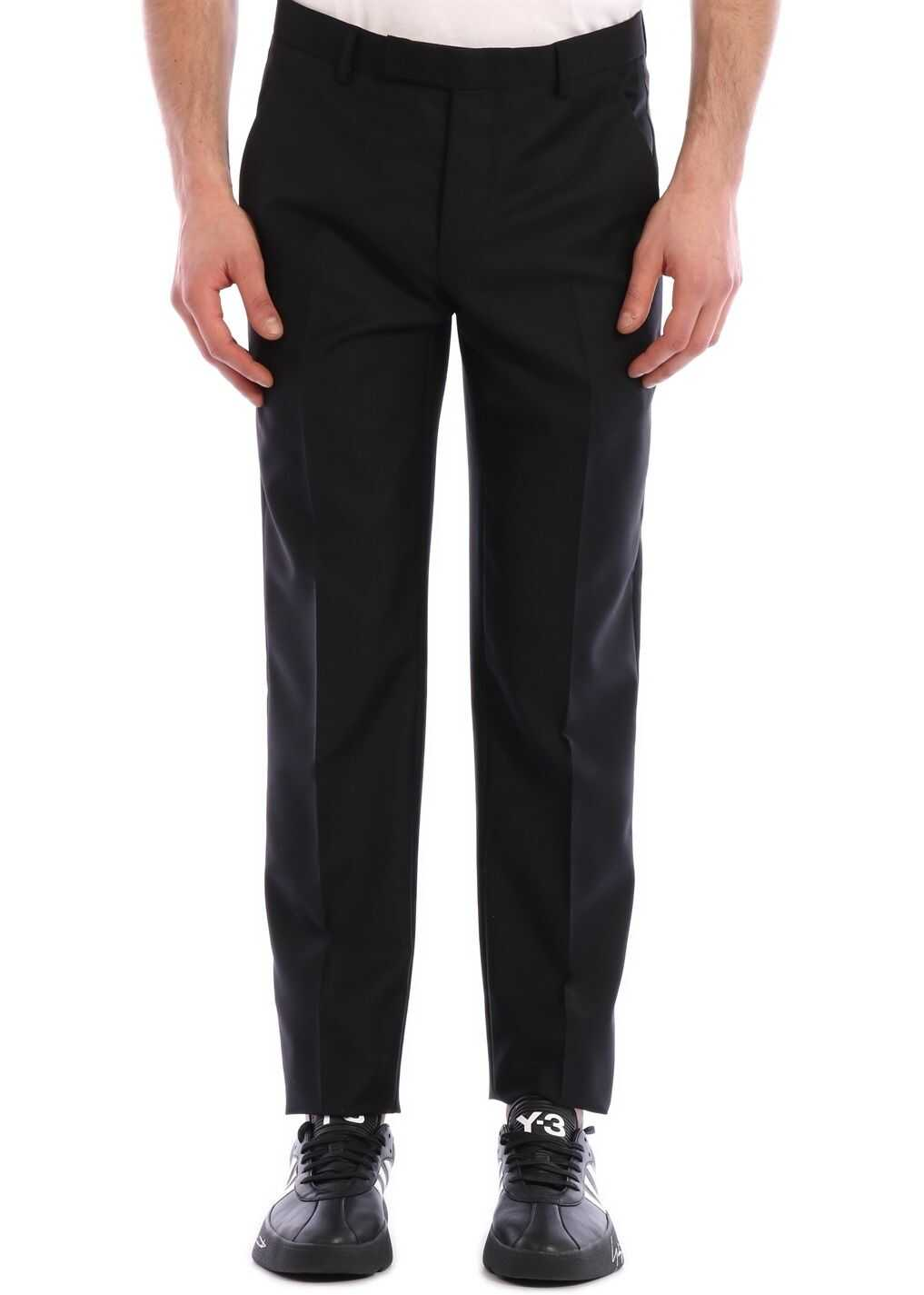 Dior Wool Twill Trousers Black