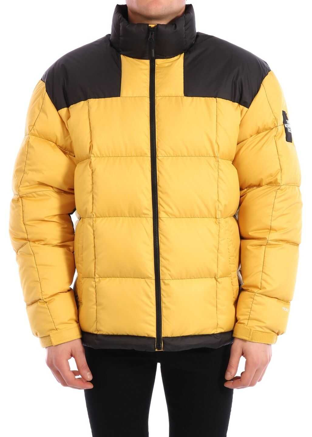 The North Face Down Jacket Yellow