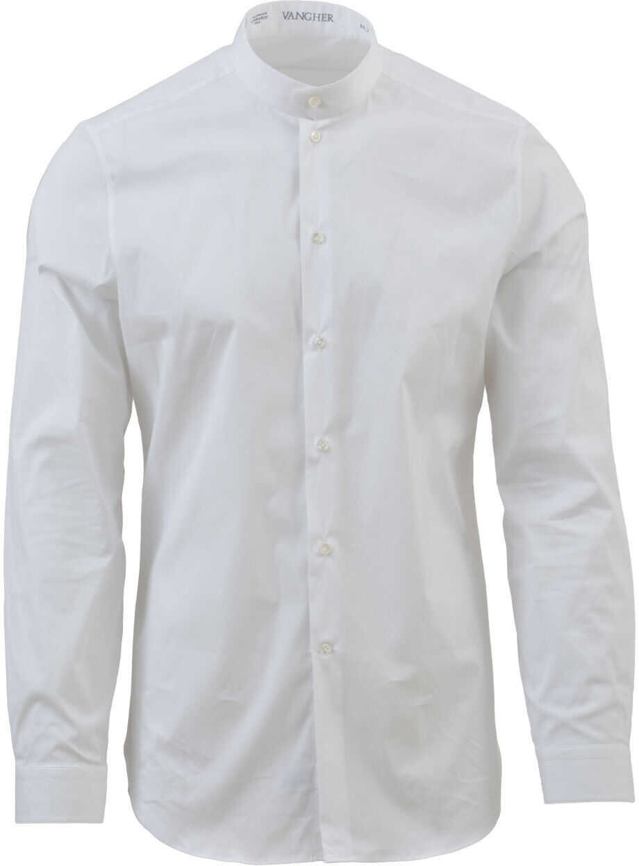 Vangher Cotton Shirt White