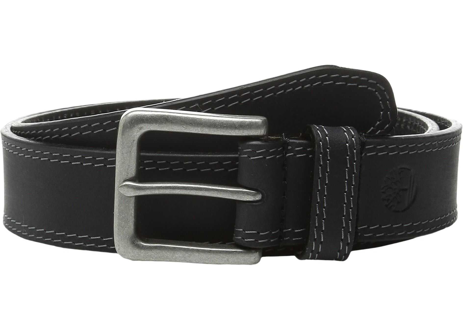 Timberland Boot Leather Belt Black 1