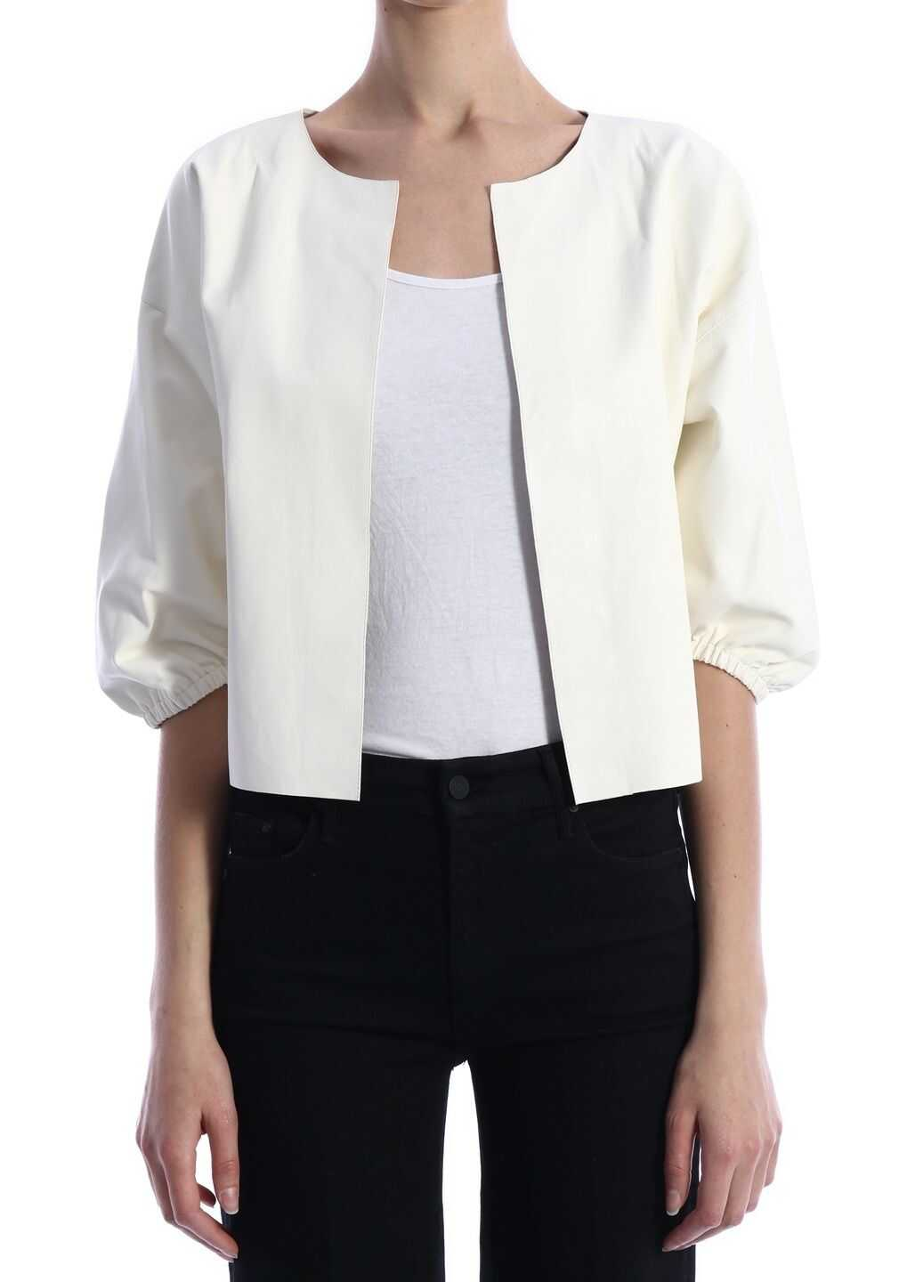 ARMA Leather Jacket White