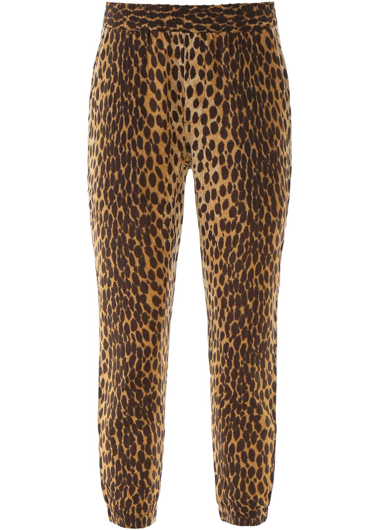 R13 Animalier Trousers CHEETAH