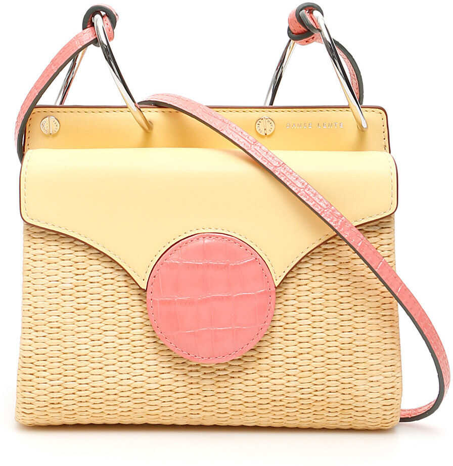 Danse Lente Mini Phoebe Folio Shoulder Bag LEMON WATERMELON