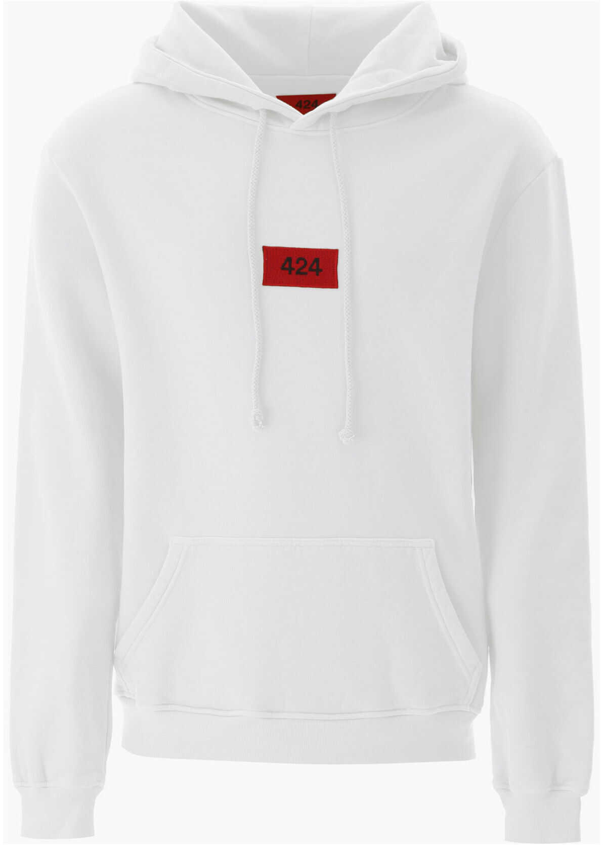 424 Logo Patch Hoodie OFF WHITE