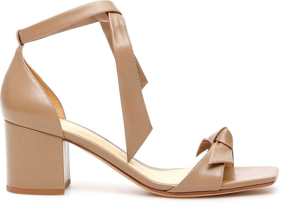 Alexandre Birman Clarita Square 60 Sandals CAMEO