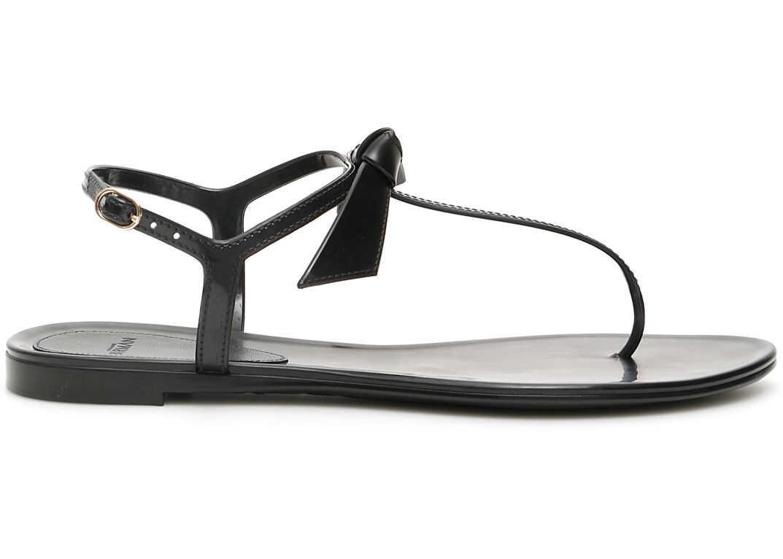 Alexandre Birman Clarita Jelly Tpu Sandals BLACK