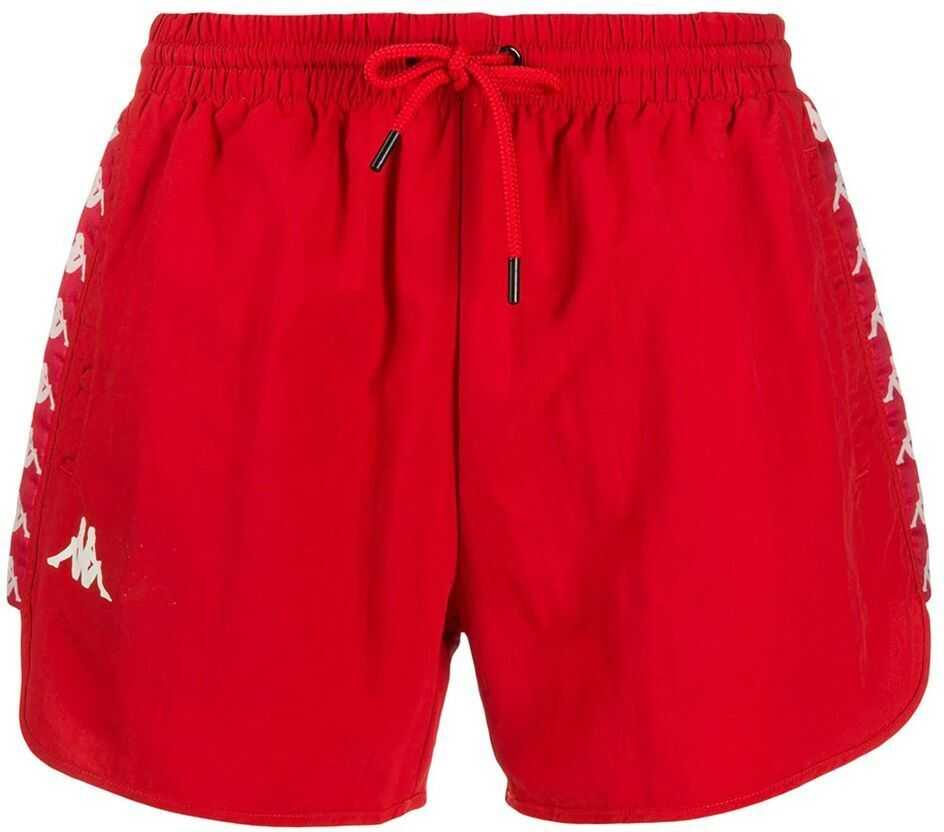 Kappa Polyester Trunks RED