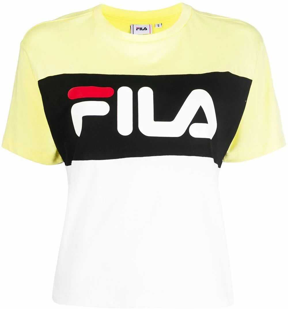 Fila Cotton T-Shirt YELLOW