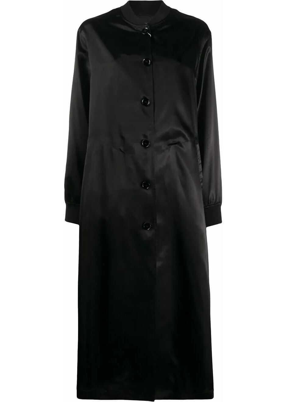 Maison Margiela Viscose Outerwear Jacket BLACK