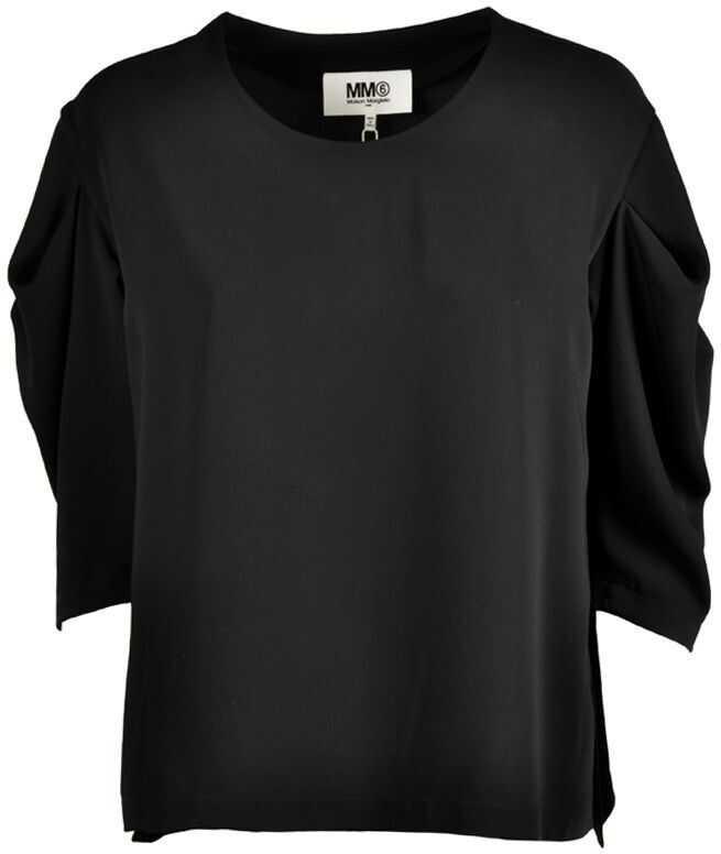 Maison Margiela Cotton Blouse BLACK