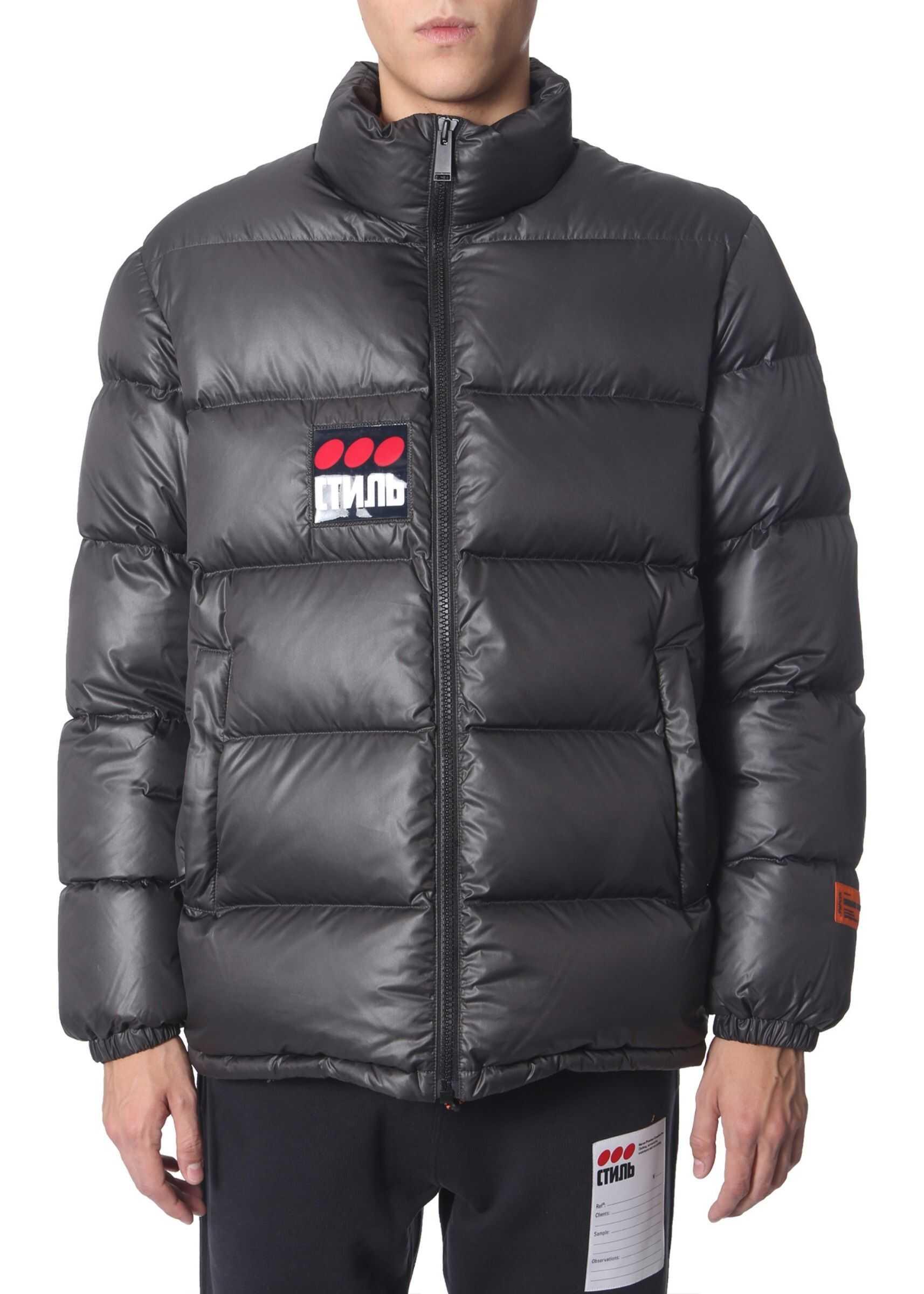 Heron Preston Down Jacket BLACK