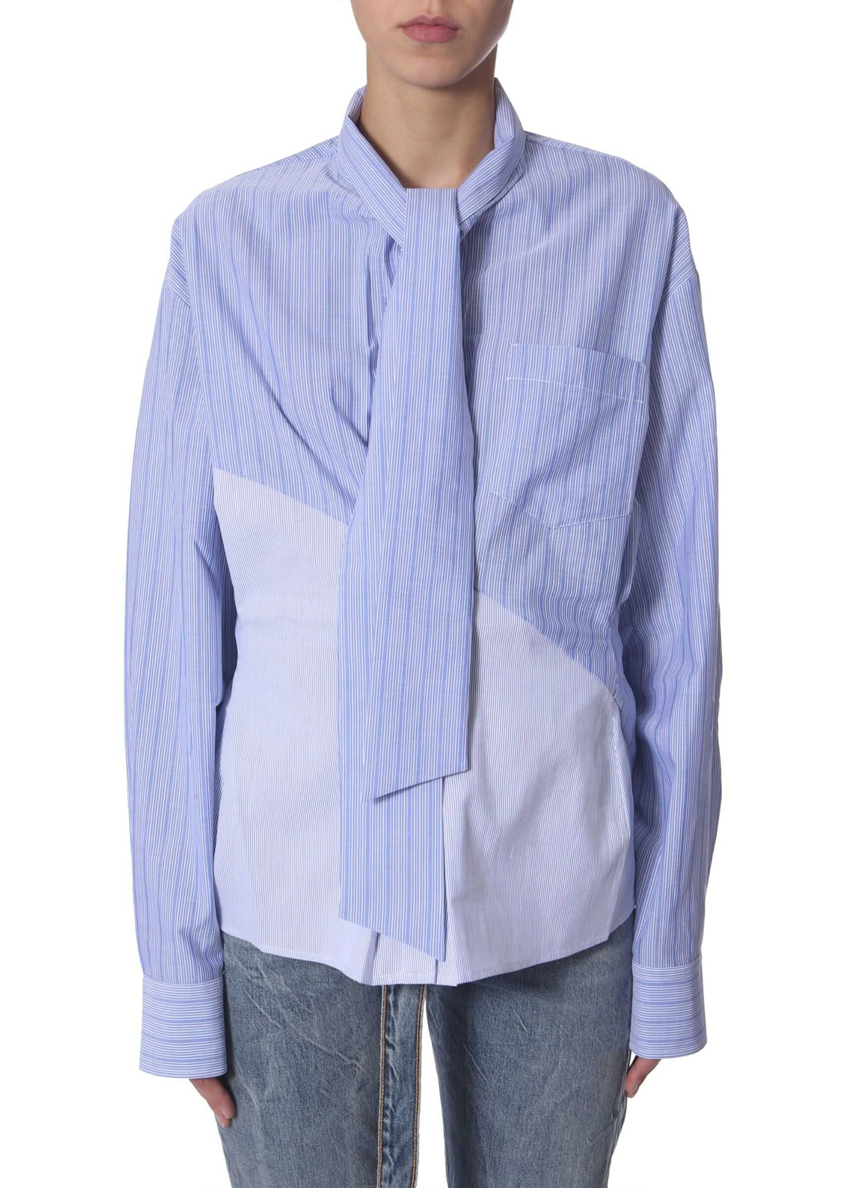 Unravel Oversize Fit Shirt BABY BLUE