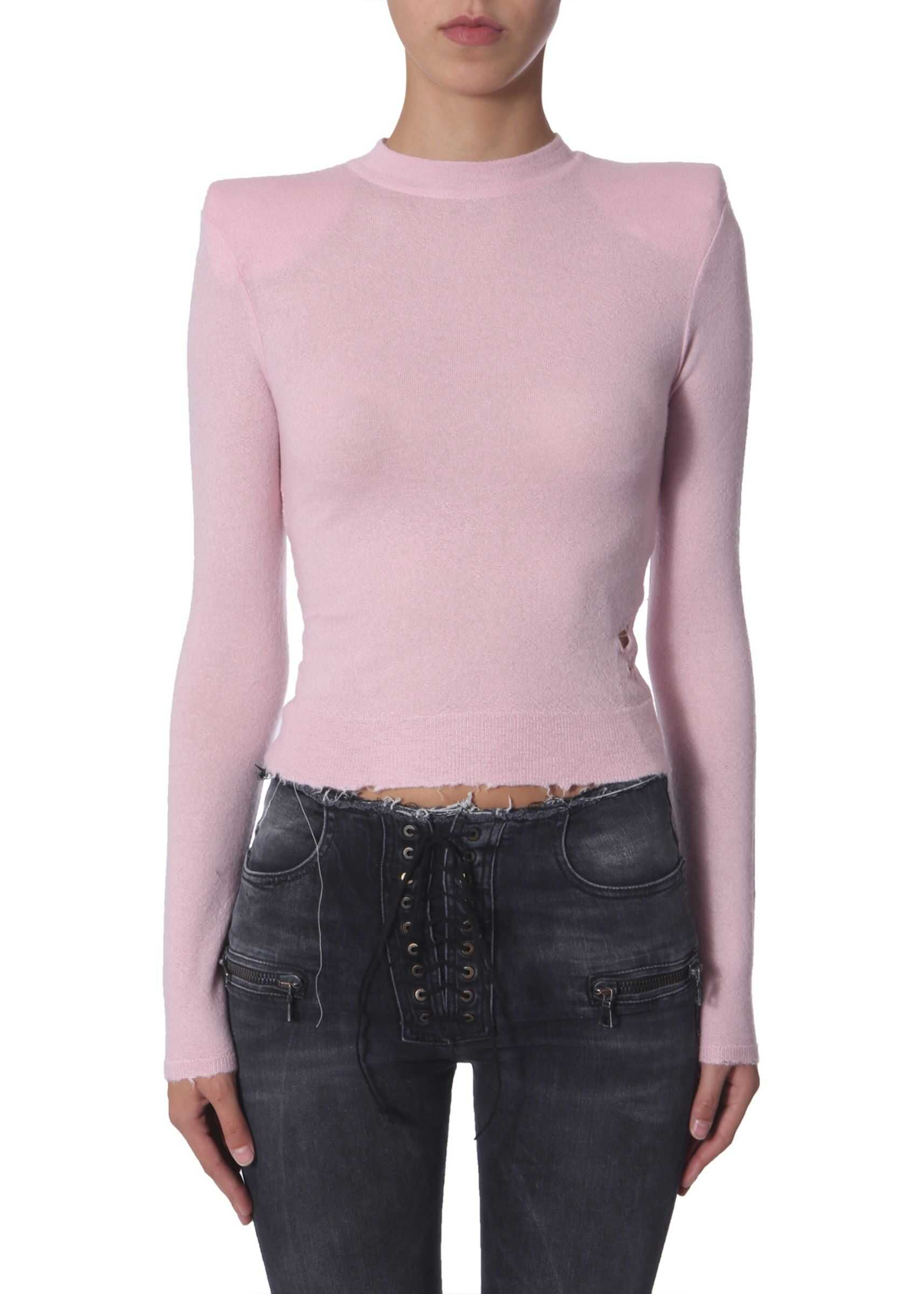 Unravel Turtle Neck Sweater PINK