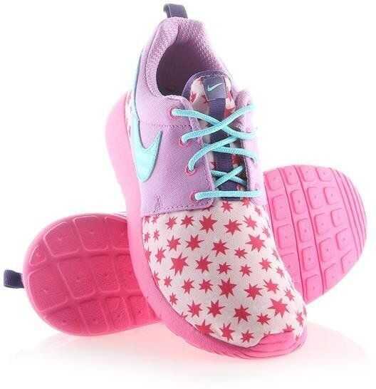 Nike Roshe One Print (GS) BLUE imagine b-mall.ro