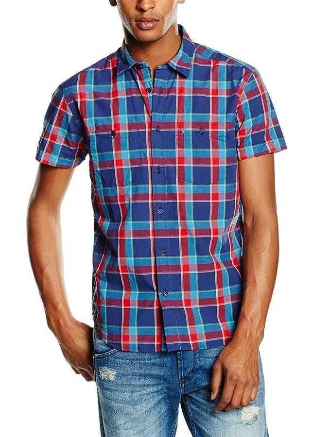 Wrangler ® S/S Two Pocket Shirt MULTICOLOR imagine
