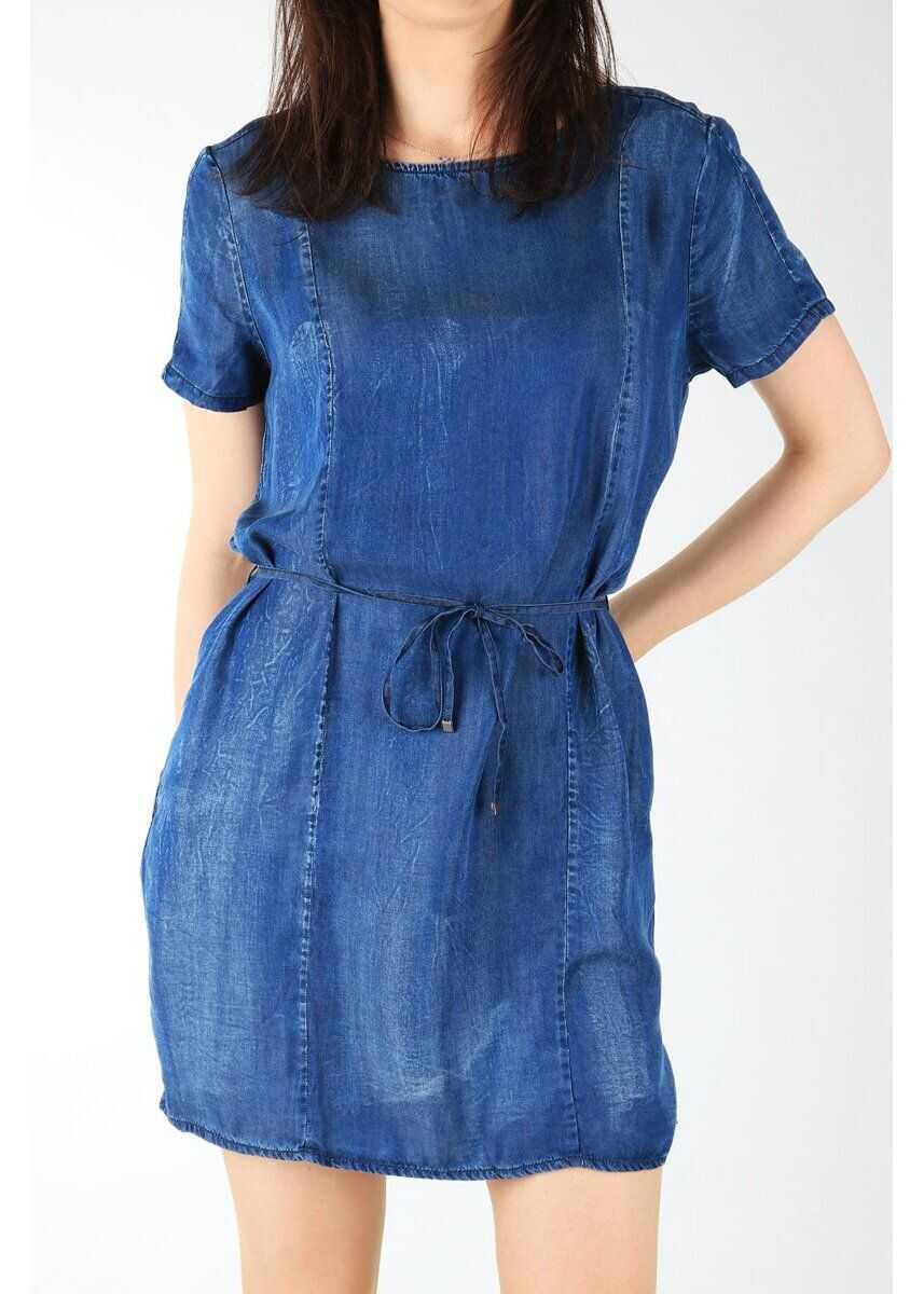 Wrangler Shift Dress BLUE