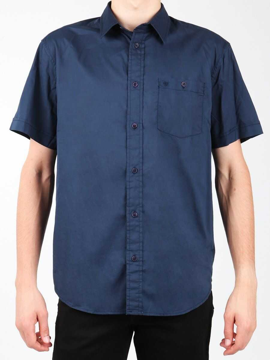 Wrangler S/S 1PT Shirt NAVY