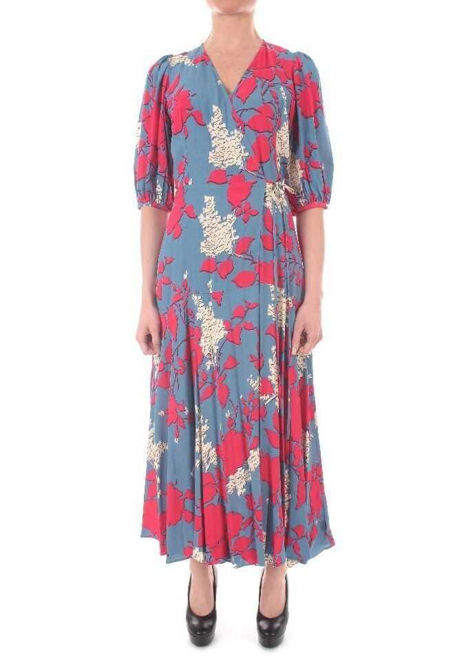 Calvin Klein Viscose Dress BLUE