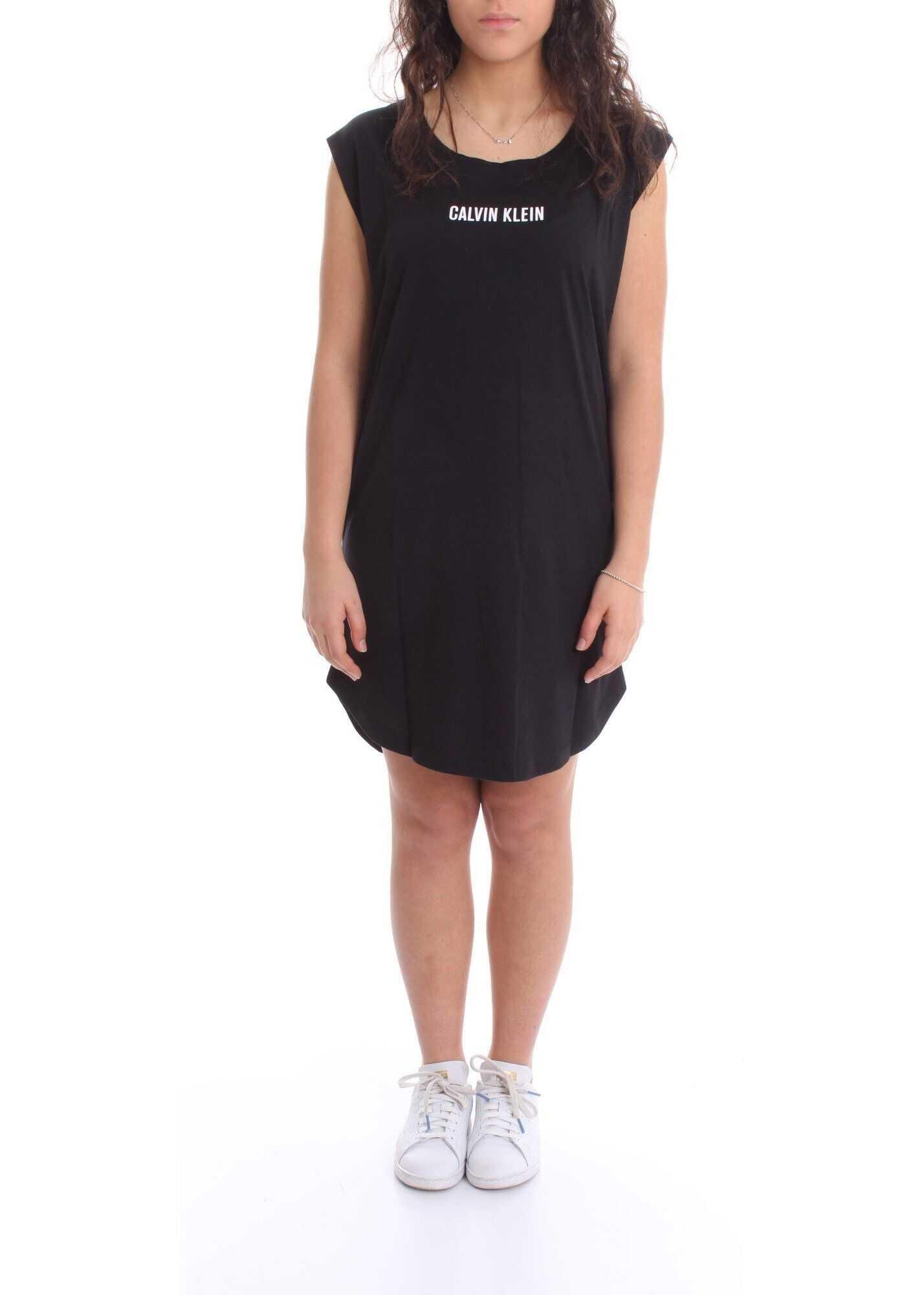 Calvin Klein Cotton Dress BLACK