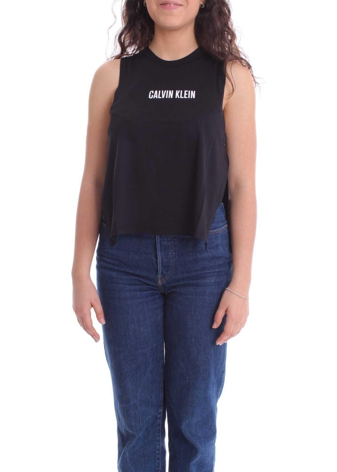 Calvin Klein Cotton Tank Top BLACK