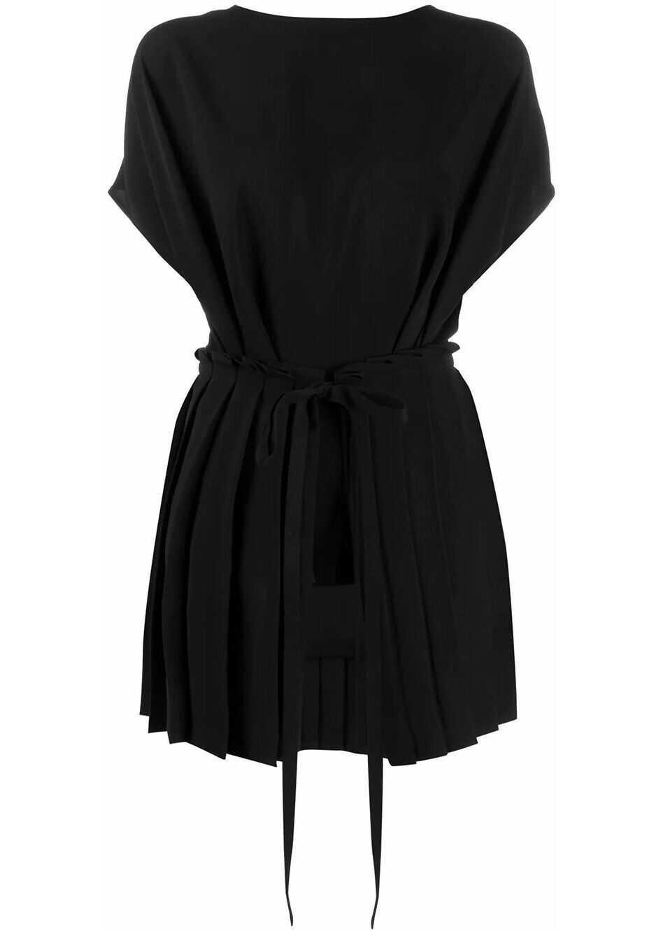 Maison Margiela Polyester Blouse BLACK
