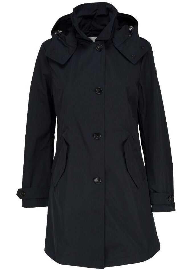 Woolrich Polyester Outerwear Jacket BLUE
