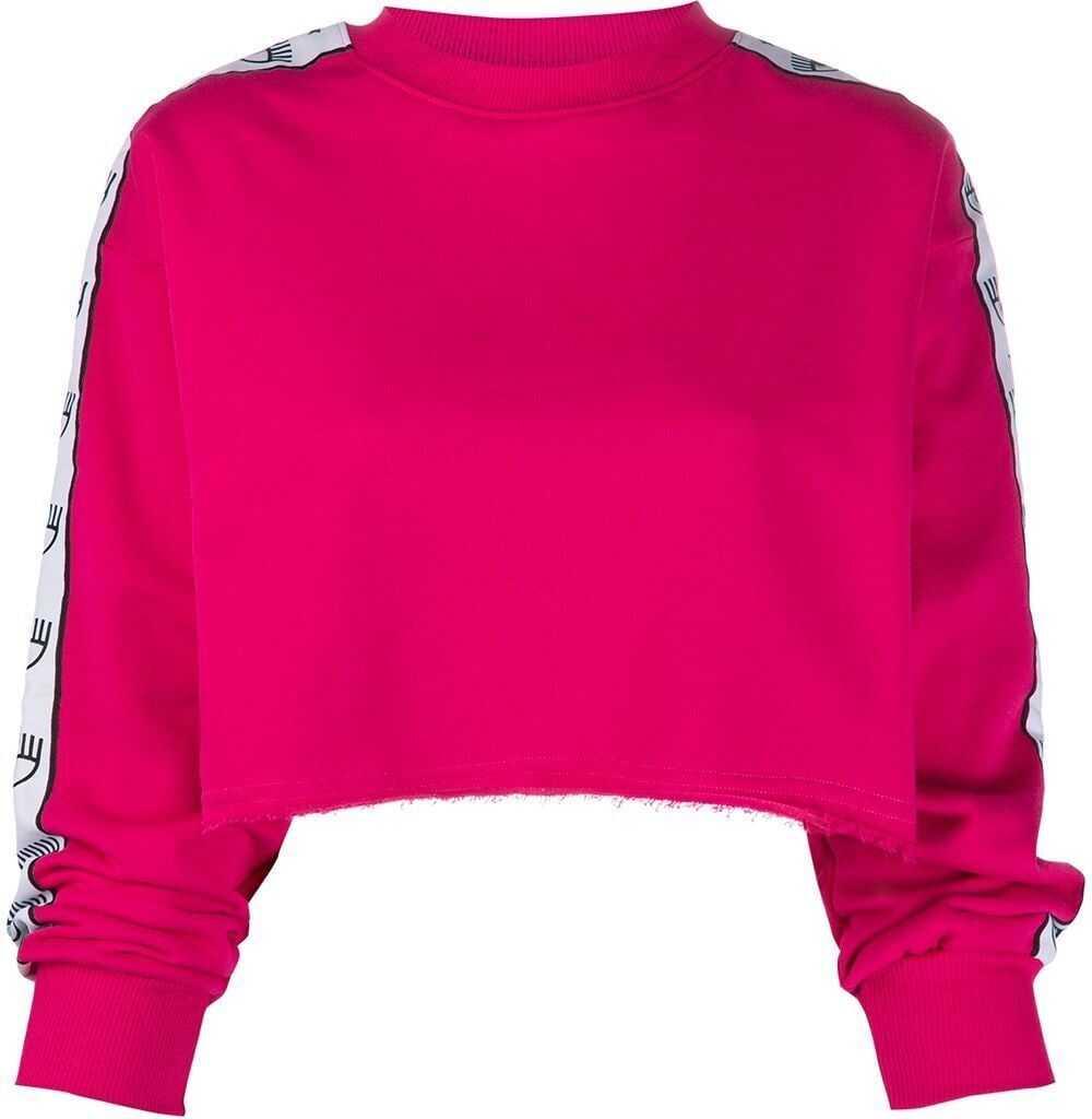 Chiara Ferragni Cotton Sweatshirt FUCHSIA