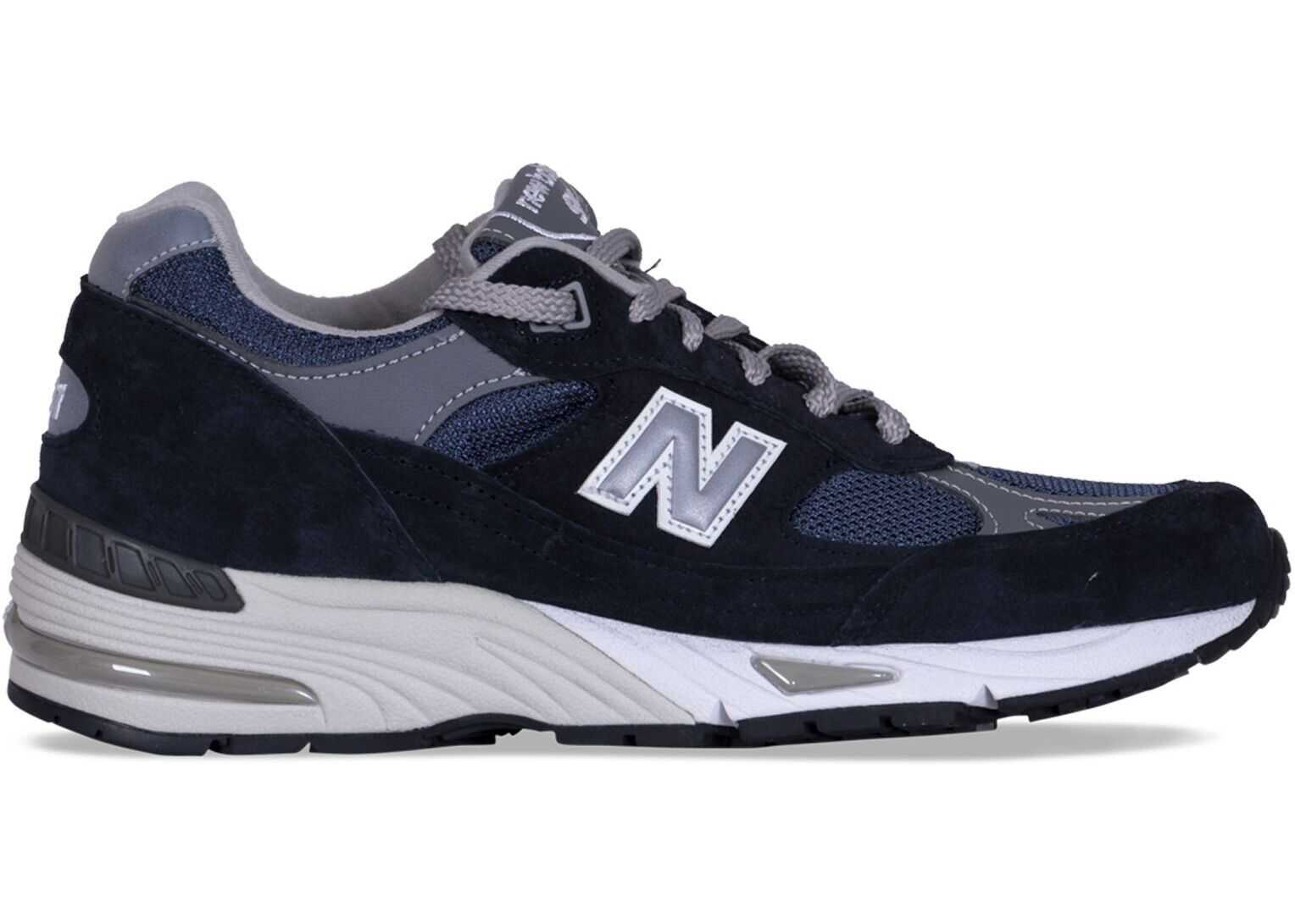 New Balance Nbm991Nv Suede Sneakers BLUE