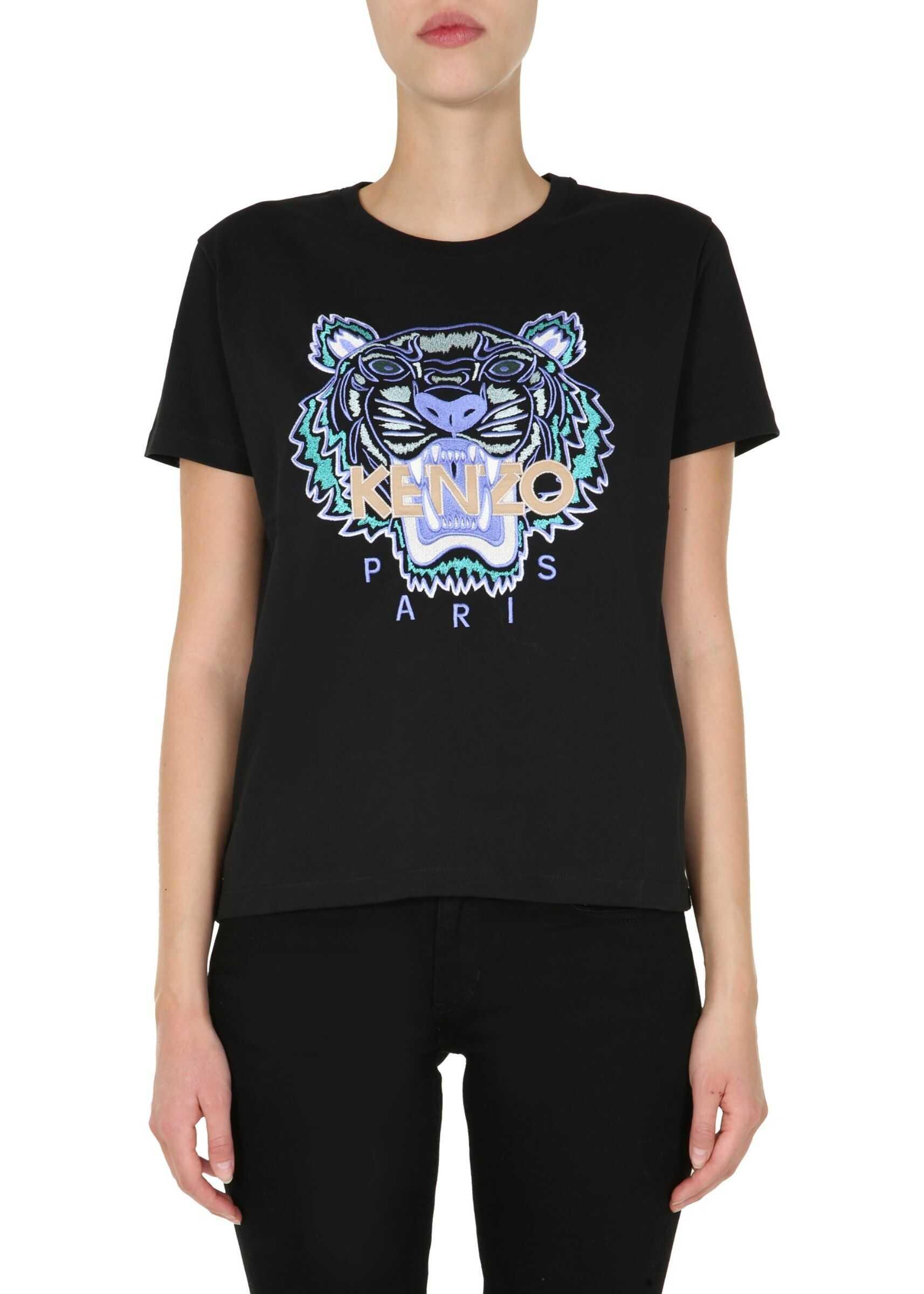 Kenzo Round Neck T-Shirt BLACK