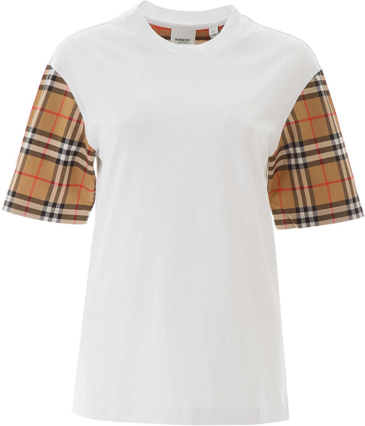 Burberry Serra T-Shirt WHITE