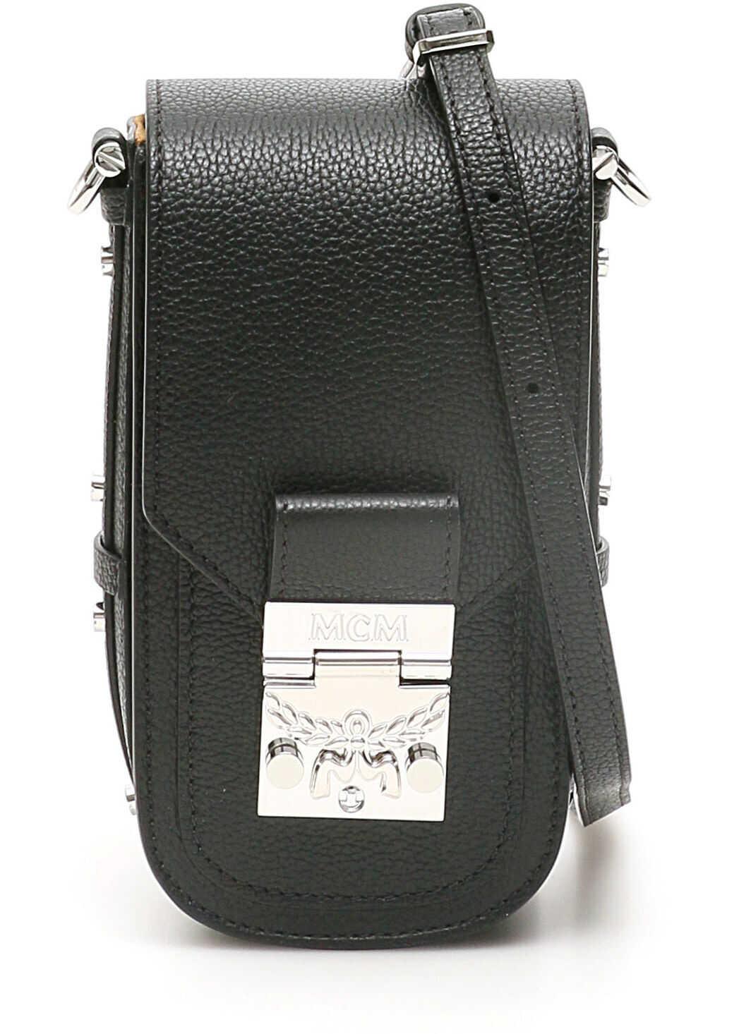 MCM Patricia Park Avenue Crossbody Bag MWR0SPA02 BLACK imagine b-mall.ro